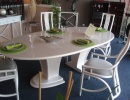 Table Ovale Milan 2 Allonges